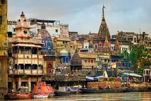 Rio Ganges en Varanasi