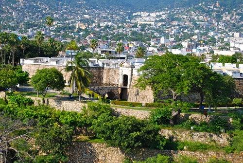 Fuerte San Diego en Acapulco