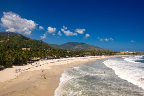 Playa Parguito en Isla Margarita