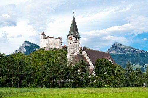 Castillo de Gutemberg en Balzers