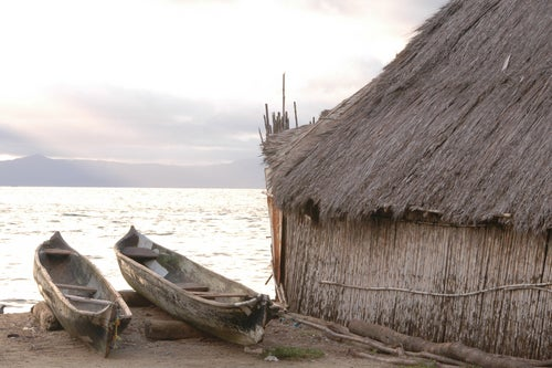 Choza en Islas San Blas