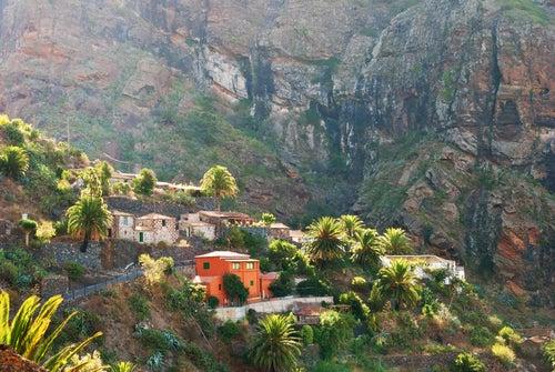 Vista de Masca en Tenerife, uno de los pueblos más escondidos