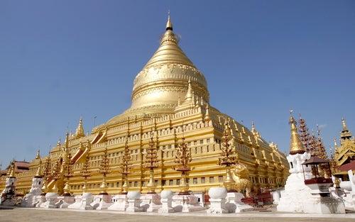 Templo de Shwedagon en Birmania