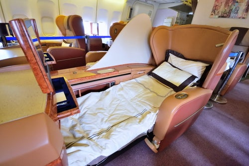 Cabina privada en Singapore Airlines