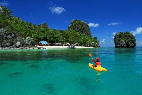 Playa en Tailandia.
