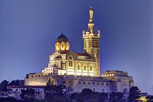 Basilica Nuestra Señora de Garde en Marsella