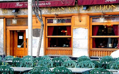 Café Gijón en Madrid