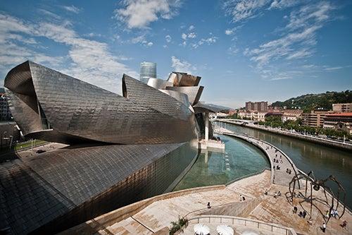 Entorno del Guggenheim en Bilbao