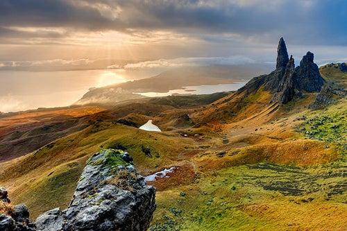 Paisaje en Isla de Skye