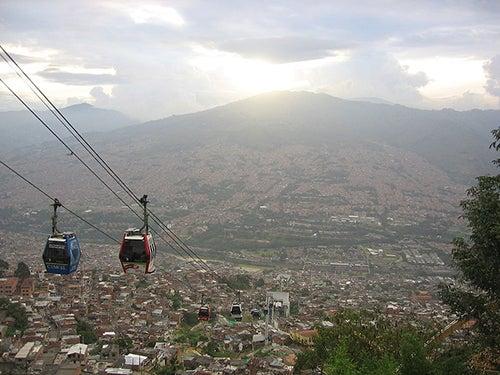 Metro Cable en Medellin