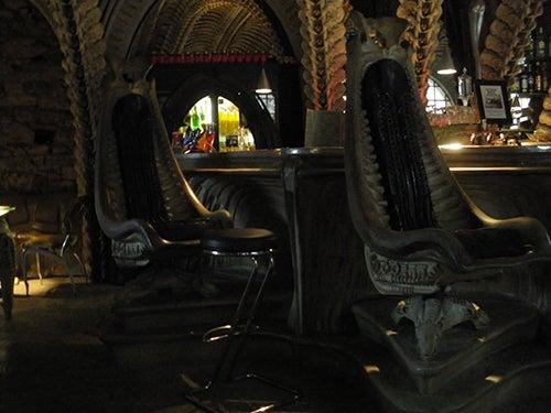Museo de Alien en Gruyeres