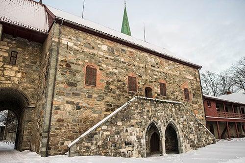 Palacio del Arzobispo en Trondheim