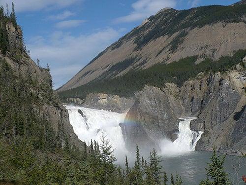 Parque Nacional Nahanni en Canadá