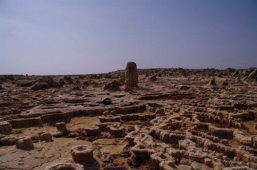 Pueblo abandonado de Dallol