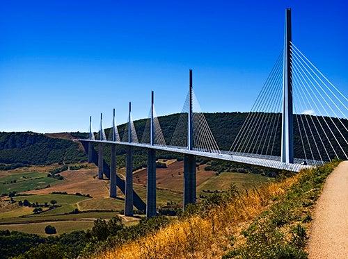 Puente Millau en Francia