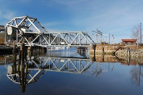 Puente Skansen en Trondheim