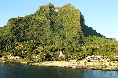 Vaitape en Bora Bora