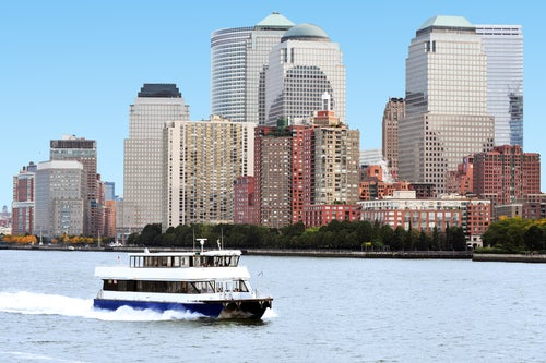 Ferry en Nueva York