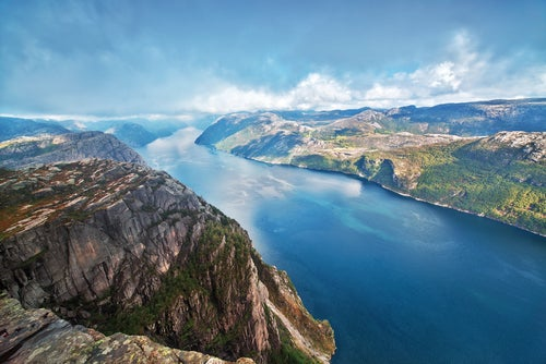 Fiordo Lysefjord en Noruega