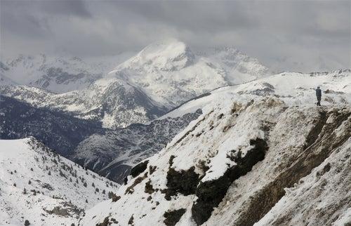 Montañas nevadas en el Valle del Boí