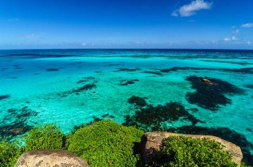 Agau s del Caribe en San Andrés
