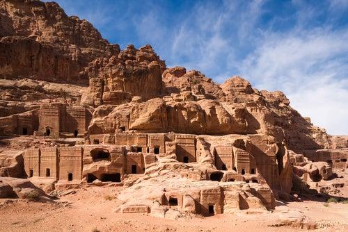 Fachadas de Petra
