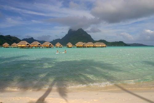 Paisaje de Bora Bora
