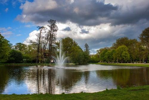Vondelpark en Ámsterdam