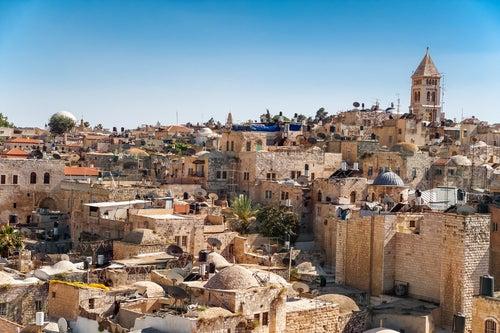 Jeruslaem como destino en Navidad