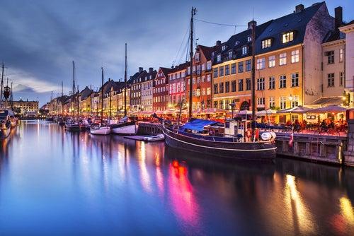 Canal de Copenhage en Dinamarca