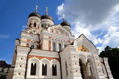 Catedral Alexander Nevsky en Tallín