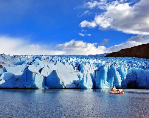Glaciar Grey en Torres del Painé