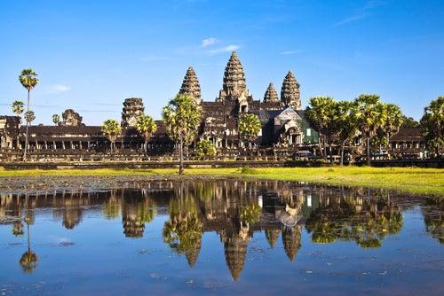 Templo de Angkor Wat en Camboya