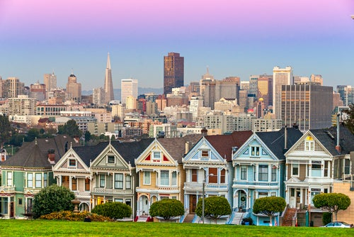 Painted Ladies en San Francisco