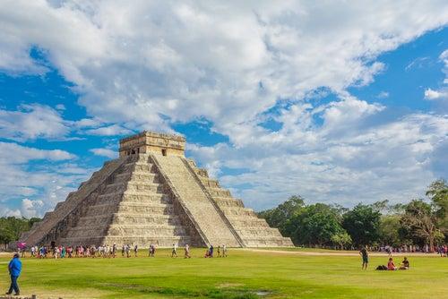 chichen Itzá en la Riiera Maya