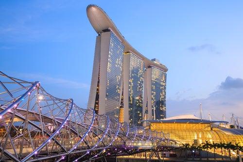 Puente Helix en Singapur