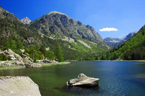 Parque Nacional de Aigüestortes en el Valle del Boí