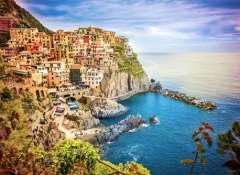 Rutas en coche por Italia, Manarola en las Cinco Villas