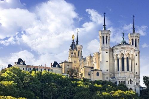 Notre Dame de Fourviere en Lyon