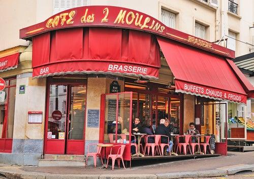Cafe des 2 Moulins en PArís