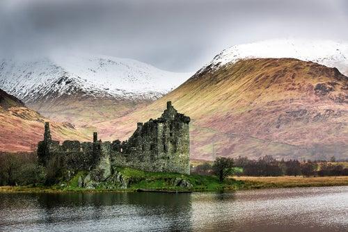 Kilchurn Castle en Escocia