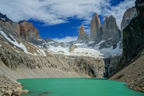 Lago en Torres del Painé