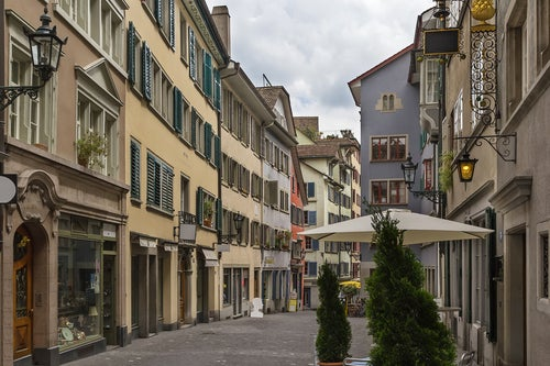 Calle del Centro de Zürich