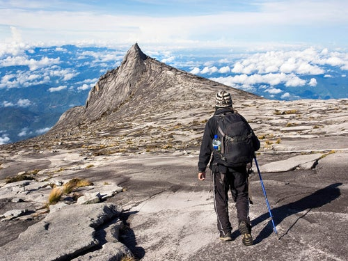 Monte Kinabalu en Malasia
