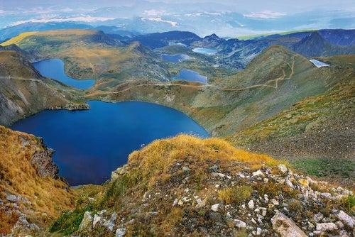 Siete lagos de Rila en Bulgaria