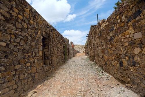 Calles abandonadas en Real de Catorce