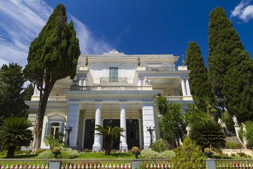 Palacio Achilleion en Corfú