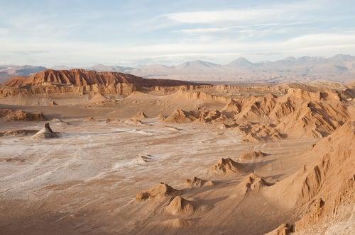 Valle de la Luna en Chile