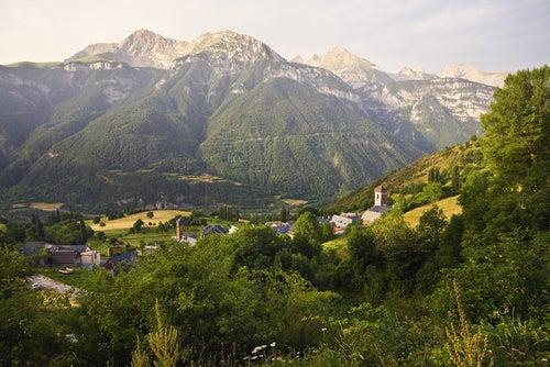 Valle de Gistaín en el Pirineo aragonés
