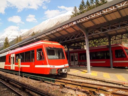 Estación de tren de Chamonix